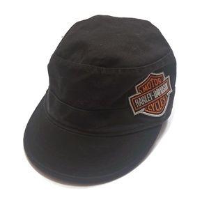 Harley-Davidson Women's Adjustable Cadet Hat Black